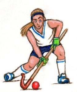 Olympic hockey player